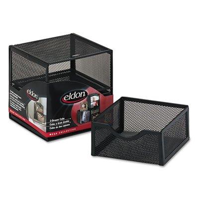 organization-two-drawer-cube-wire-mesh-storage-6-x-6-x-6-black-by-rolodex