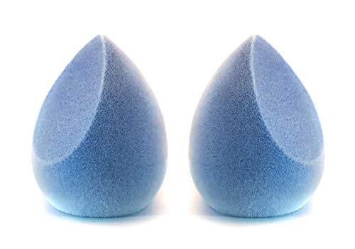 Mikrofaser Make-up Schwamm 2er Set, Samt, Dual Layer Microfiber Make Up Sponge, velvet, Latex frei