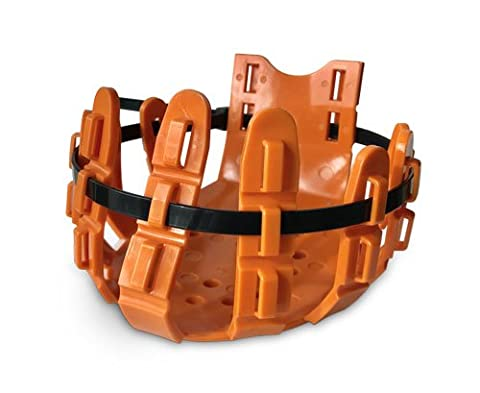 Vet-Strider (Equine Poultice Boot/Hoof Protector) Medium Orange + 10 Cable Ties