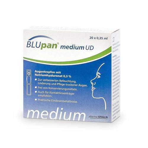 Blupan medium Ud Augentro 20X0.35 ml