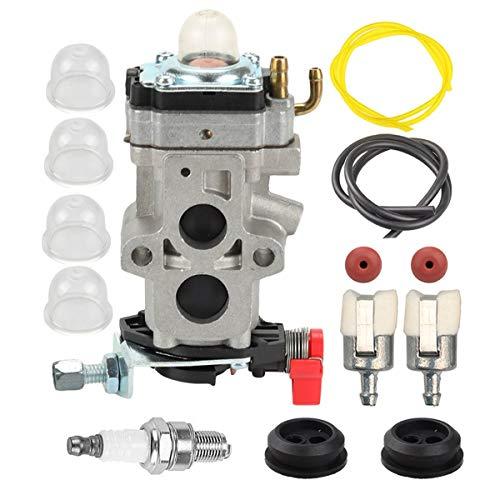 Hippotech WYA-79 WYA-172 Carburador con Filtro de línea de Combustible Junta para Husqvarna 350BT 150BT...
