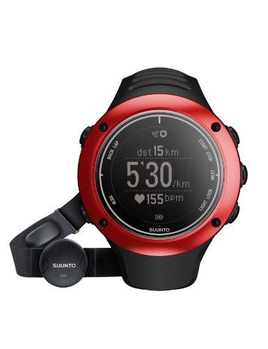 Suunto Unisex Sportuhr Ambit2 S HR, Red, S, SS019209000