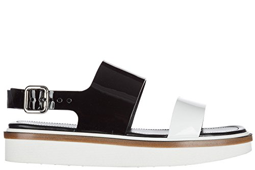 <span class='b_prefix'></span> Tod's Women's Leather Sandals Black