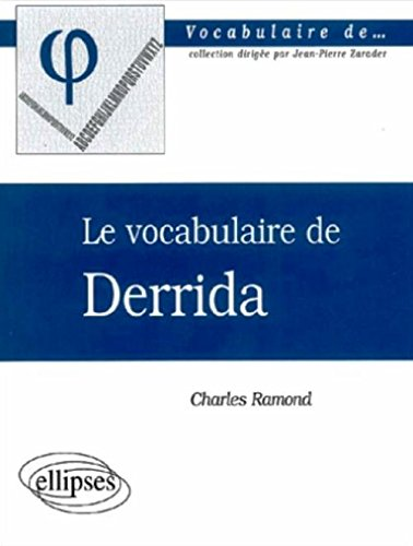 Vocabulaire de Derrida