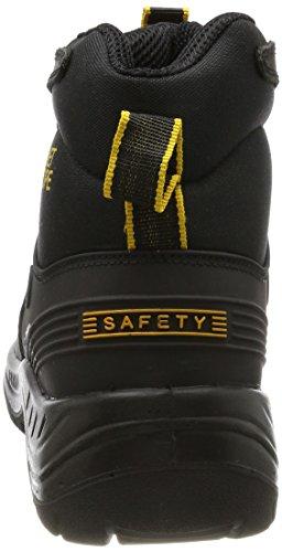 Gevavi Planet Europe Track S3 Sicherheitsschuhe Schwarz, Chaussures de sécurité mixte adulte Noir - Noir