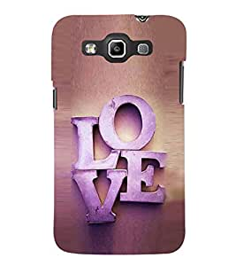 Fuson Designer Back Case Cover for Samsung Galaxy Win I8550 :: Samsung Galaxy Grand Quattro :: Samsung Galaxy Win Duos I8552 (Love Deep Love True Love L.O.V.E Love Forever)