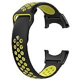 Per Correas de Repuestos para Relojes Inteligentes Deportivos SUUNTO COREAllBlack Bandas de Repuesto de Silicona de Estilo Deportivo