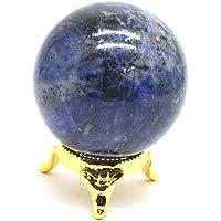 Heilung Kristalle Indien®: Lapis Lazuli Edelstein Kugel Ball 1PC 50–60mm preisvergleich bei billige-tabletten.eu