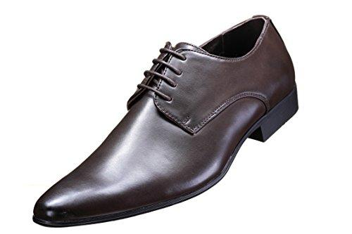Galax - Chaussure Derbies Gh2019 Brown Marron