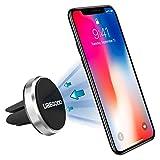 Ubegood Magnet Handyhalterung Auto Halterung Lüftung Universal KFZ Halter für iPhone 6S/6Plus /6/5S ,Samsung Galaxy S6/S5, Galaxy Note 4/3 und jedes andere Smartphone oder GPS-Gerät (Silber)