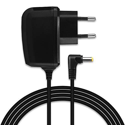 CELLONIC® Cargador - 1,20m (1A) para Sony PSP-1000/1004 / 2000/2004 / 3000/3004 / E1000 / E1004 (5V / 4.0mm x 1.7mm) Cable de carga