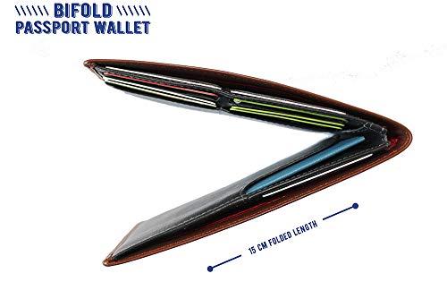 Mehrzweck-Reise-Pass-Halter, schlankes Reise-Dokumenten-Organizer, schwarz (Schwarz) - 6785485 - Brieftasche Mehrzweck