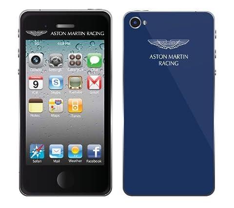 Aston Martin Racing Screen Guard Schutzfolie für Apple iPhone 5 blau