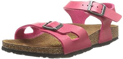 Birkenstock Women's Rio Birko Flor Graceful Fashion Sandals 3 Pink Size: 10