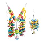 fdit wooden parrot toys colorful wood birds standing chewing climbing swing stairs ball toys gift 2pcs Fdit Wooden Parrot Toys Colorful Wood Birds Standing Chewing Climbing Swing Stairs Ball Toys Gift 2Pcs 4195Bb1xOyL