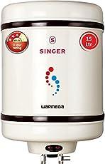 Singer Warmega 2000-Watt Storage Water Heater 15 Litre