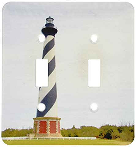 3dRose lsp_93246_2 Cape Hatteras Lighthouse in North Carolina Us34 Dfr0031 David R Frazier Light Switch