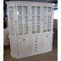 Comparador de precios Casa-Padrino Shabby Chic Cottage Style Buffet Cabinet Cabinet 200cm ModF6 - Dining Room Cabinet - precios baratos
