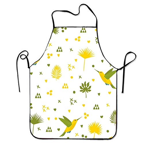 HTETRERW Ice Cream Unicorn Apron for Baking Crafting Gardening Cooking Durable Easy Cleaning Creative Bib for Man and Woman Standar Size (Kinder Ice Cream Man Kostüm)