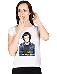 Harry Styles One Direction White Girls T-shirt
