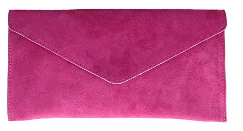 girly-handbags-v108-fuchsia-genuine-suede-leather-envelope-clutch-bag-wrist-bag-fuchsia