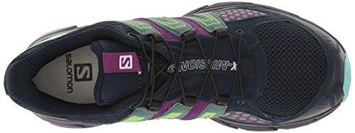Salomon  X-mission 3 W, Sneakers trail-running femme Bleu (Navy Blazer/Grape Juice/North Atlantic)