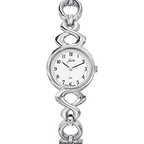 Joalia 633286 - Orologio da polso donna, metallo, colore: argento