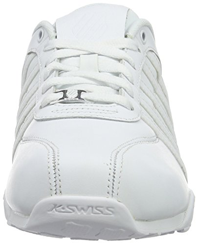 K-SwissARVEE - Scarpe da Ginnastica Basse Uomo Bianco (white/white/navy 959)