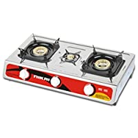 Nikai triple Burner Gas Stove - NG845