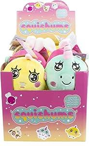 Darpeje- Squishums. De 4 Personajes Infantiles En Peluche Ultra Suave Y Perfumado para Eliminar El Stress. Vuelven A Su Forma Original de Toys & Fun - Sycomore Faujas (TSQS001), (1)