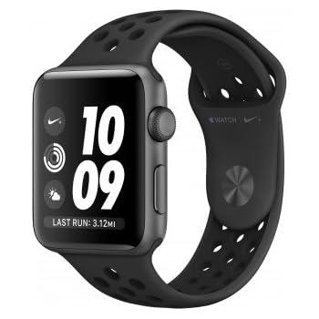 Apple Watch Nike+ Reloj Inteligente Gris OLED GPS (satélite) - Relojes Inteligentes (OLED, Pantalla táctil, GPS (satélite), 18 h, 32,3 g, Gris)