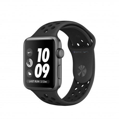 Apple Watch Nike+ OLED GPS (Satélite) Gris Reloj Inteligente - Relojes Inteligentes (OLED, Pantalla Táctil, GPS (Satélite), 18 h, 32,3 g, Gris)