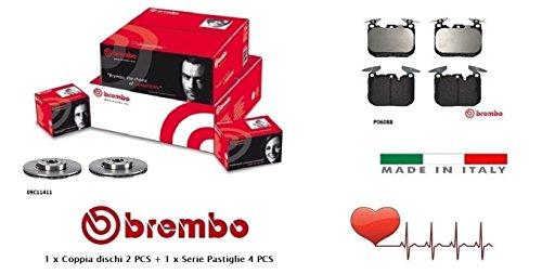 09C11411-P06088 Kit Dischi e Pastiglie Freno Anteriori Brembo