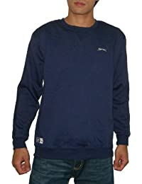 Mens SLAZENGER High Quality Thermal Sport Long Sleeve Sweater
