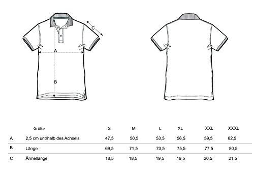 YTWOO Herren Poloshirt Aus Biobaumwolle, Poloshirt Herren Aus Baumwolle (Bio), Polo Shirt Bio, Polohemd Bio. Die Knopfleiste mit Modischen Falten Rot
