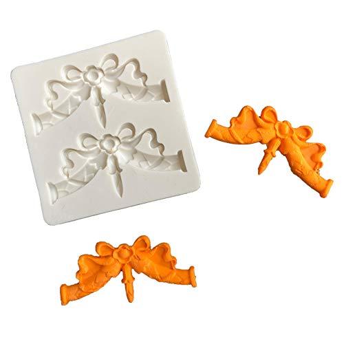 CFPACR Christmas Bowknot DIY Silikon-Form Fondant Cake Zucker Handwerk Dekorations Werkzeug-wei?