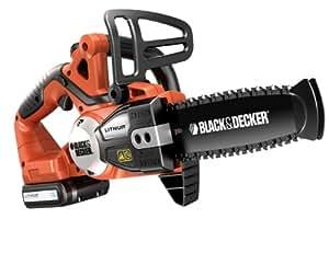 Black + Decker GKC1820L Tronçonneuse sans fil Lithium 18 V 1,5 Ah