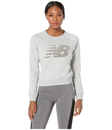 New Balance Varsity Chenille Crew Sweatshirt Damen grau, S -