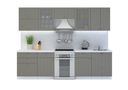 Cucina provence 280cm riga da cucina cucina cucina block allungabile