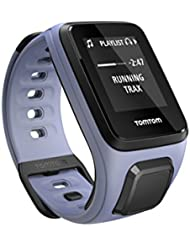 TomTom Spark Cardio + Musik GPS-Fitnessuhr lila, Größe S