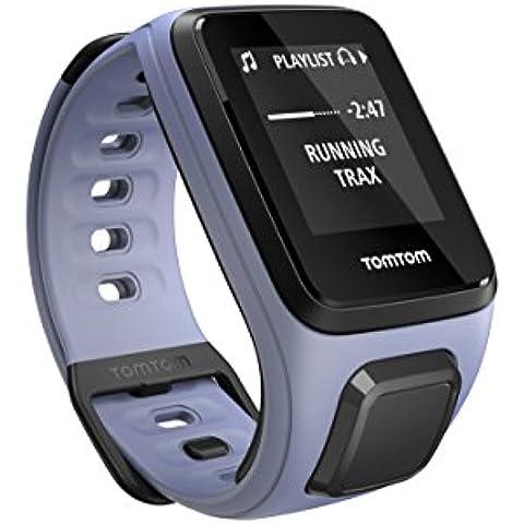 Tomtom Spark Cardio Music - Reloj deportivo, color morado, talla S
