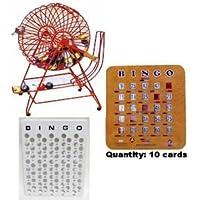 Colorful Professional Ping Pong Bingo Set by National Bingo