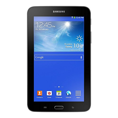 Samsung Galaxy Tab 3Lite SM-T1168GB 3G schwarz-Tablets (Mini-Tablet, IEEE 802.11N, Android, Tablet, Android, Schwarz)
