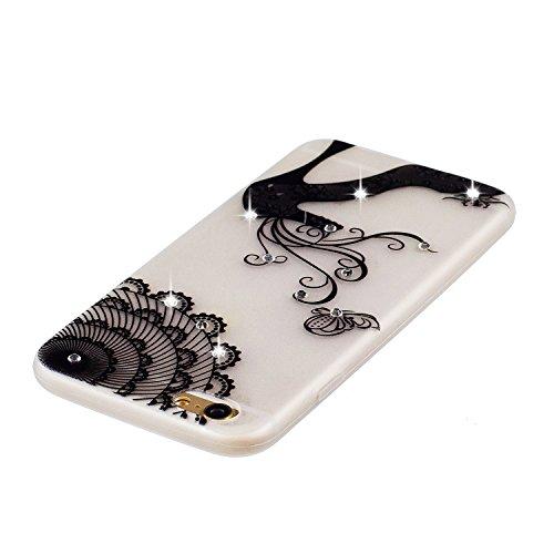 Coque iPhone 7 Plus, Etui iPhone 7 Plus Silicone, SpiritSun Etui Coque TPU Slim Bumper pour Apple iPhone 7 Plus (5.5 pouces) Souple Lumineux Etui Housse de Protection Flexible Soft Case Cas Couverture Talons Hauts