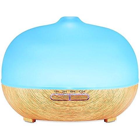Elettrico umidificatore a ultrasuoni Cool Mist Umidificatore per casa, Yoga,