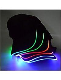 LED base Cap con visiera regolabile e cappello baseball Blitz chepì con LED  lampeggiante per Party 03cb56437675