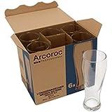 Arcoroc trigo bávara vaso de cerveza 690ml, la marca de llenado en at 500ml, 6 Vaso