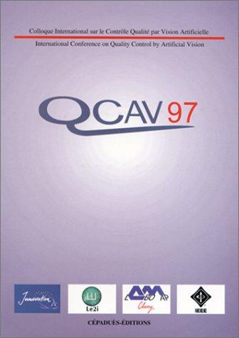 QCAV contrôle qualité par vision artificielle. Conférence internationale
