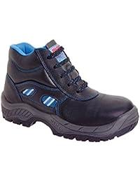 Dian Milan-scl - Travail Chaussure Unisexe Adulte, Taille 45, Couleur Noire