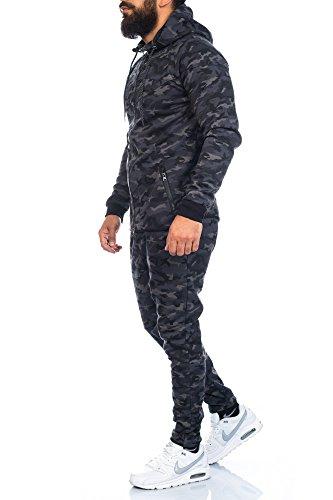 Rock Creek RC-08S-XL Tuta da jogging o allenamento da uomo Nero